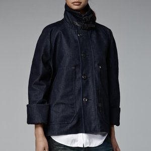 G-STAR Davin XL Coat Indigo Denim XS